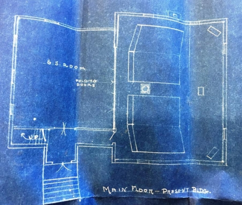 Bludeprint of main floor