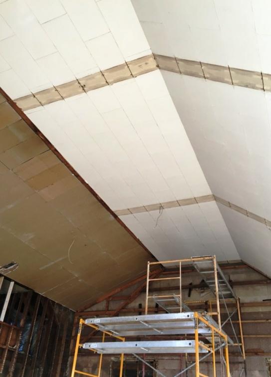 pristine ceiling