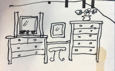 checkbook drawing
