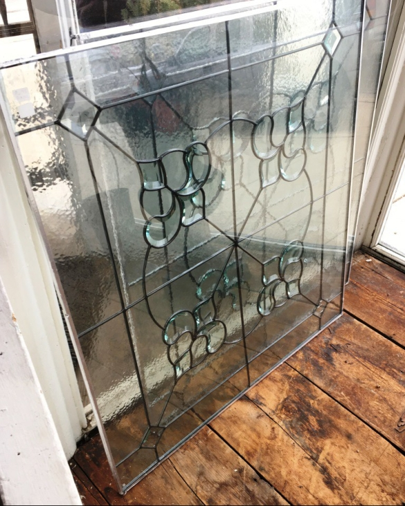 leaded glass for balcony