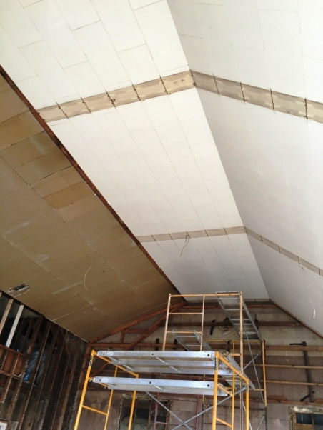 before drywall