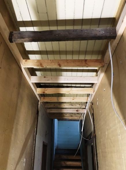ceiling hallway