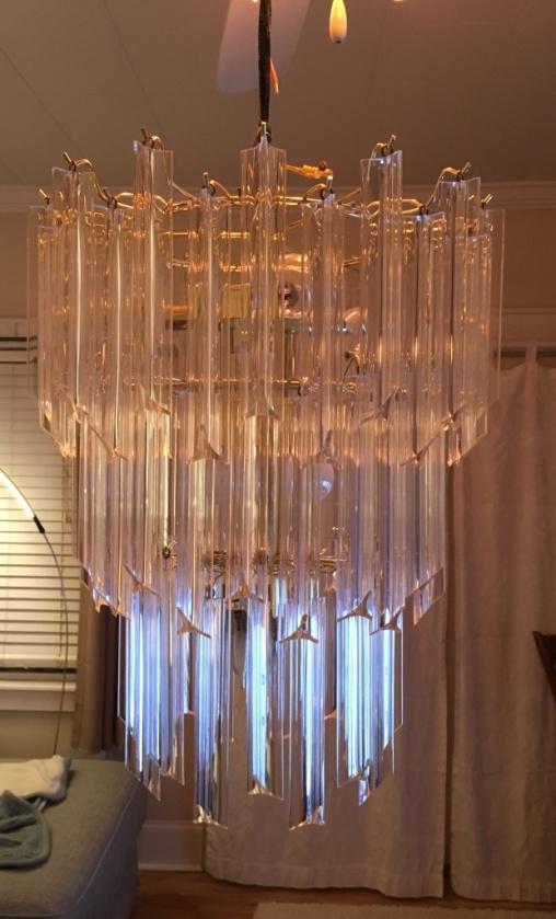 chandelier assembled