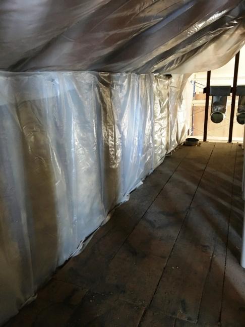 insulated attic eave