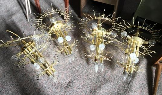 spider chandeliers