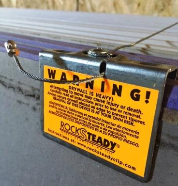 drywall warning