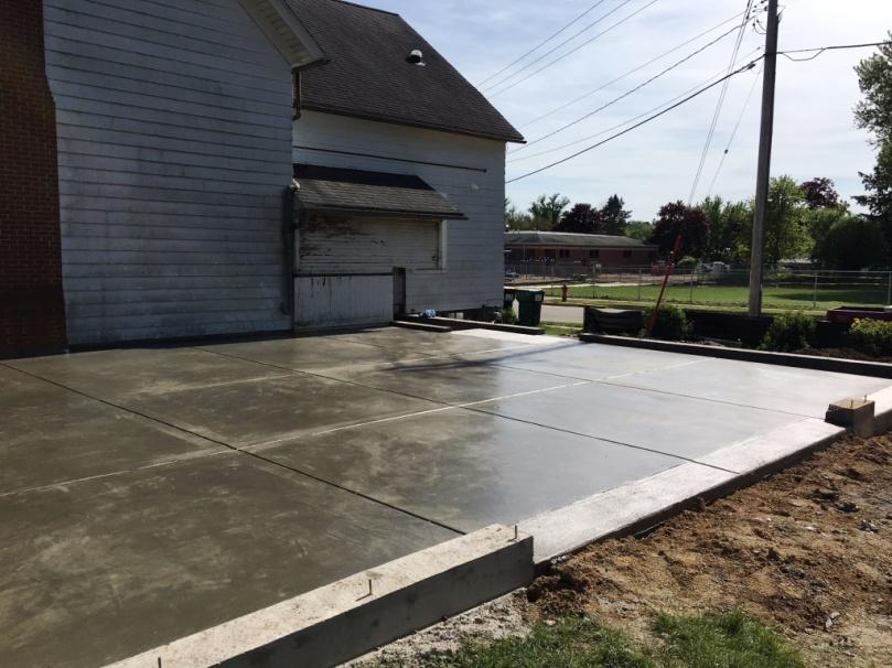 finished foundation