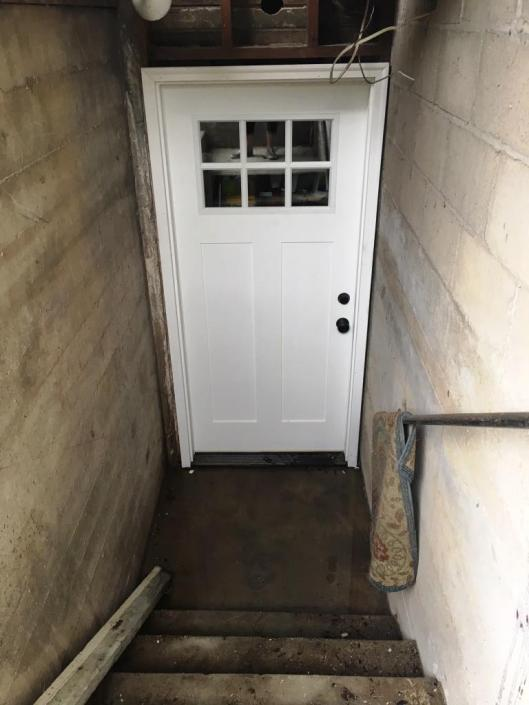 back basement door