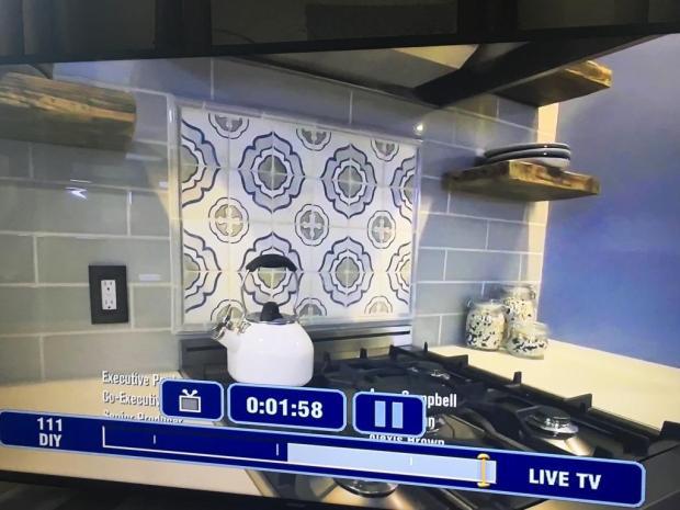 backsplash stove