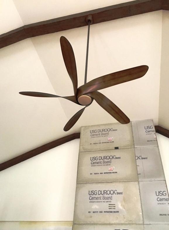 fan installed