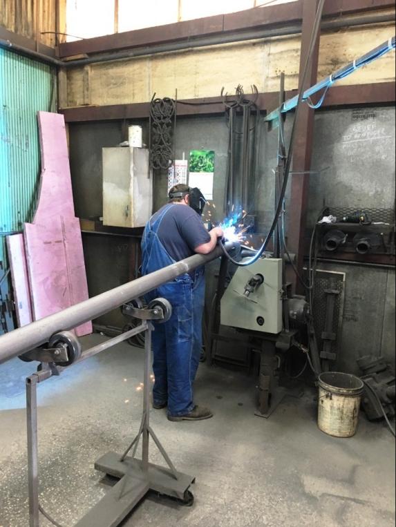 welding stairway
