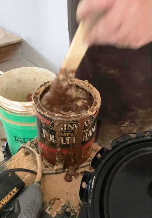 sawdust plus poly