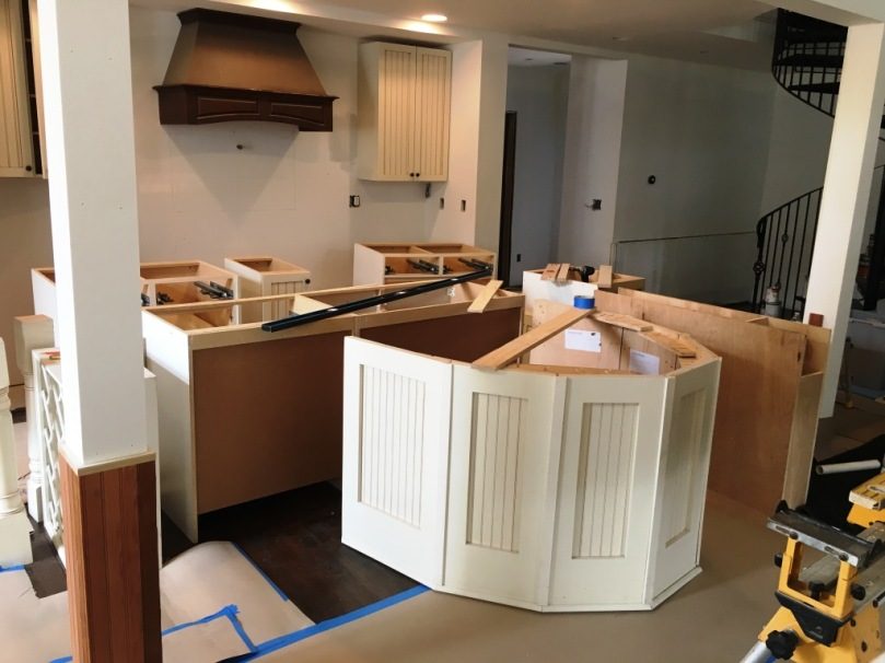 kitchen in assembly