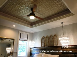 Church Sweet Home Tray Ceiling