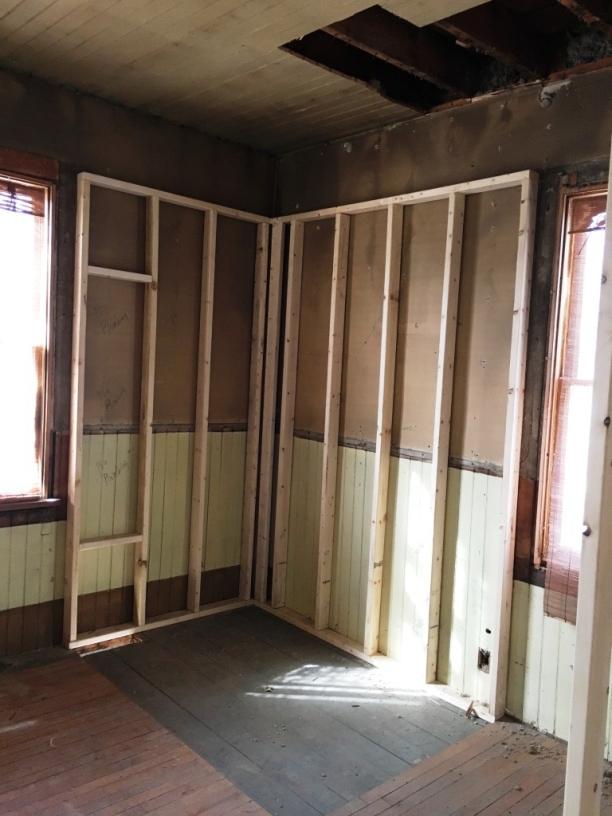 shower pre construction