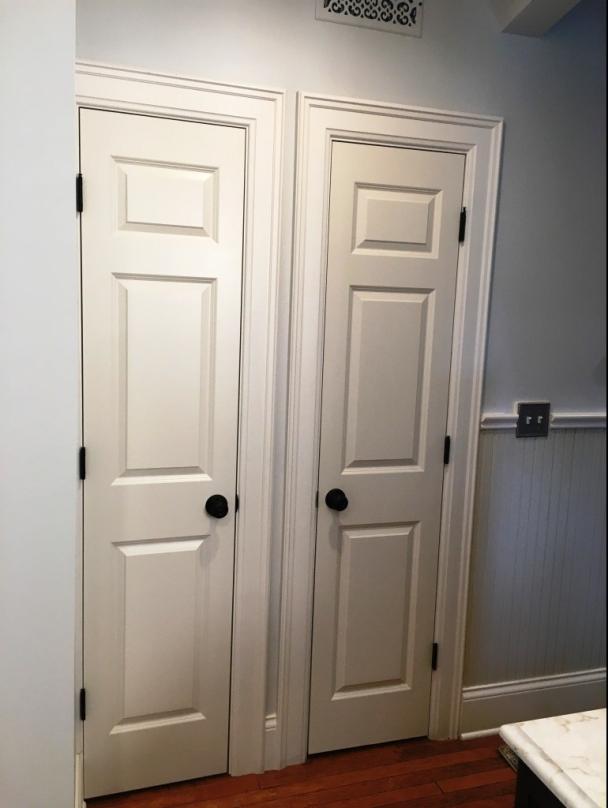 linen closet knobs
