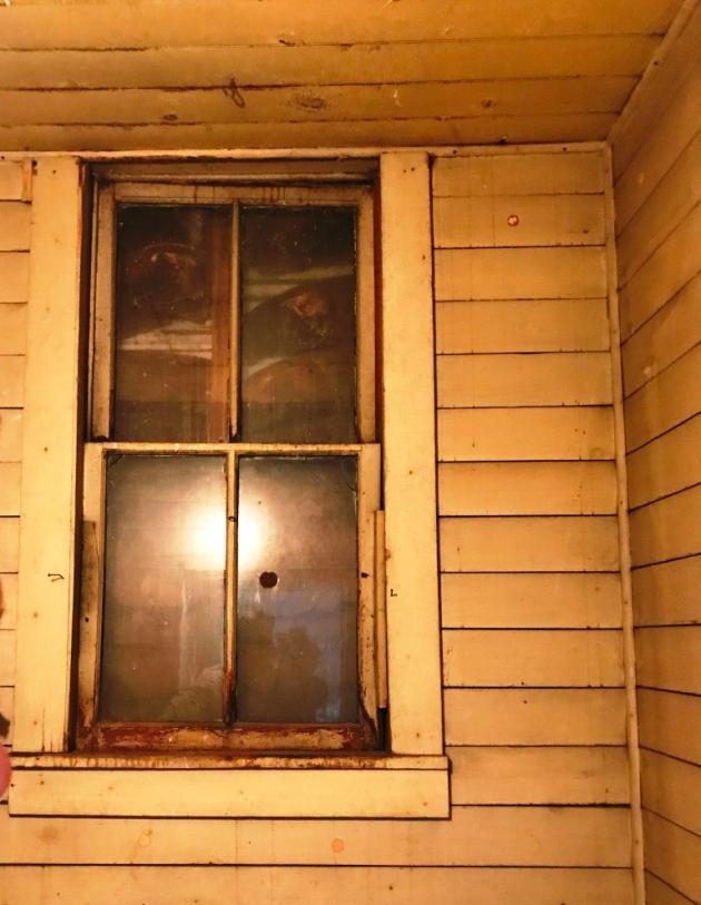 belfry window before