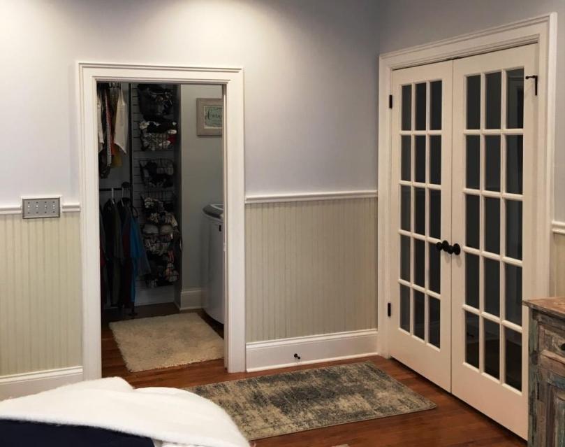 closet side after