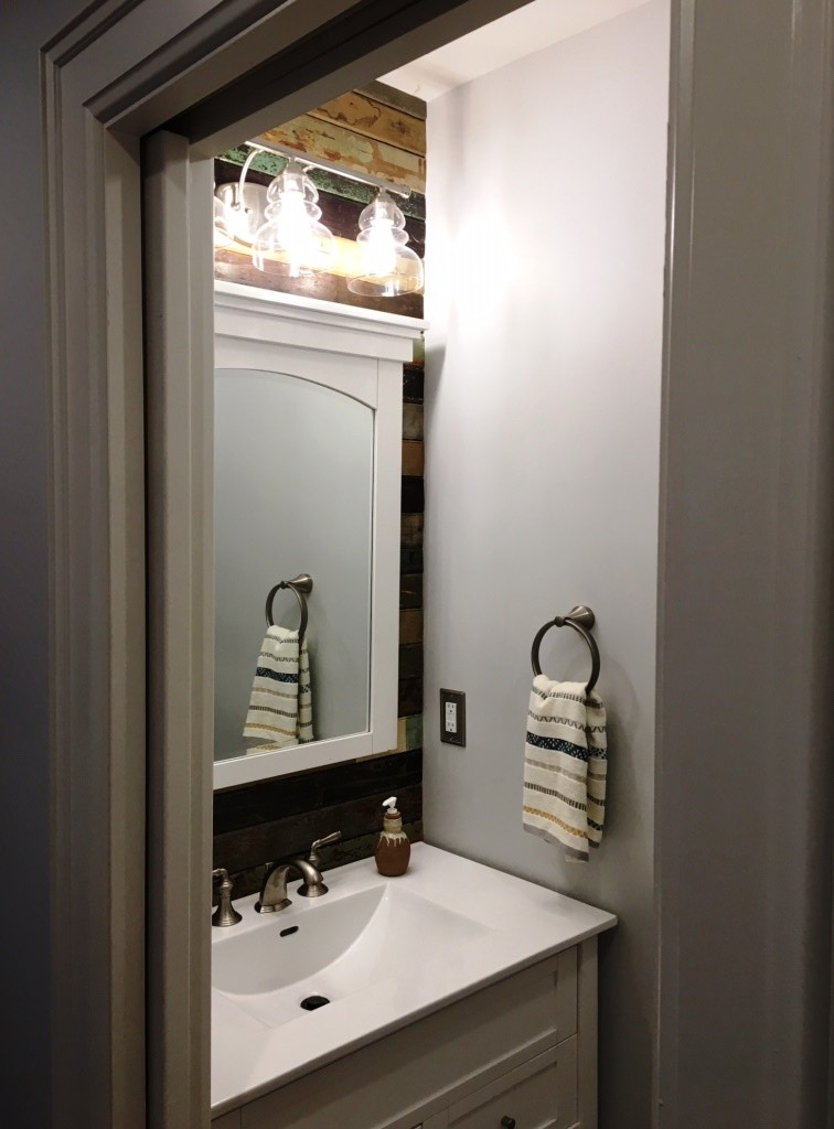 inside powder room