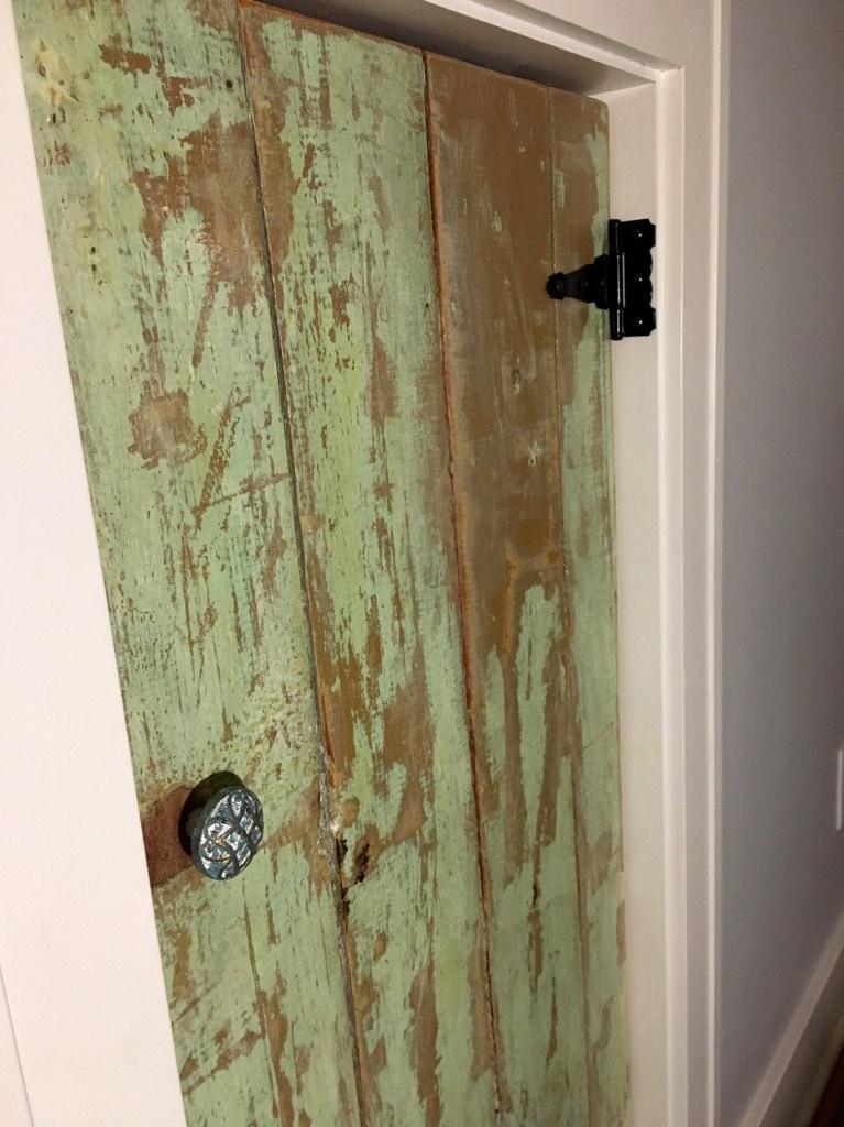 lucy's door with knob