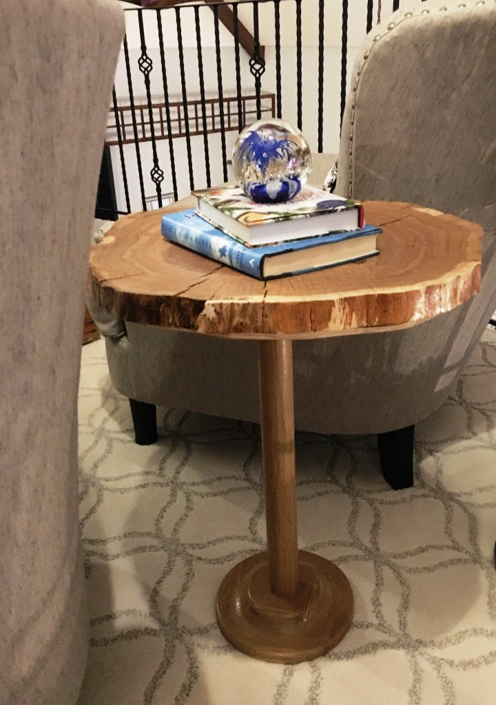 end table from side