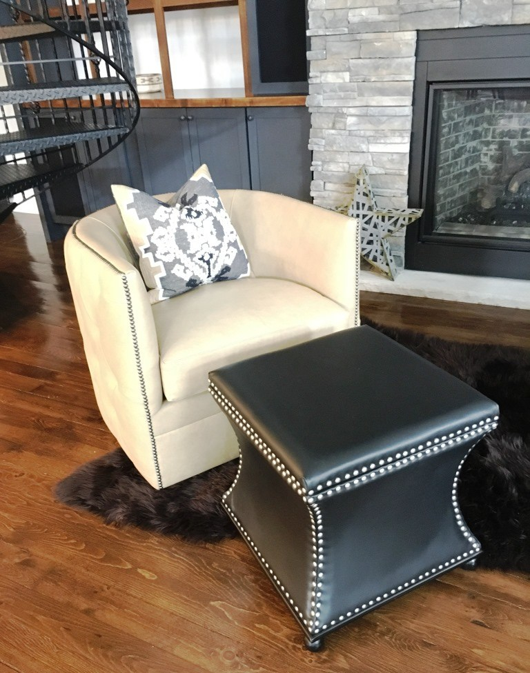 fireplace chair one