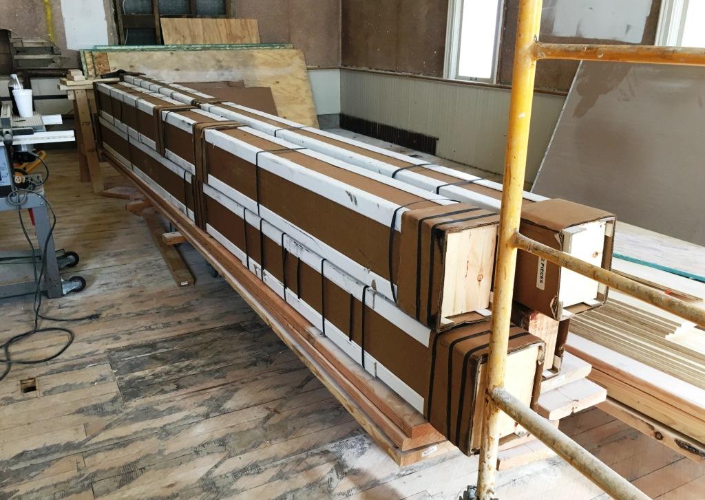 beams shipped