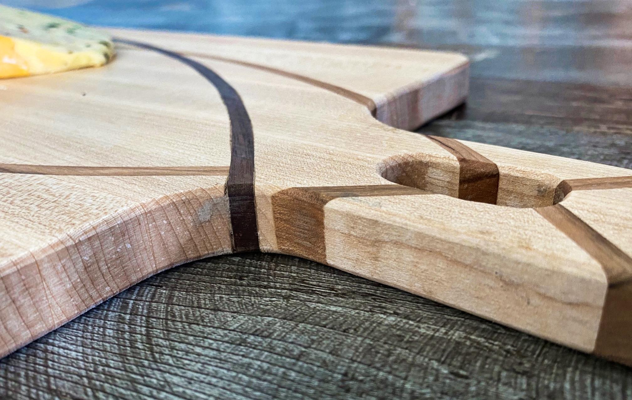 cutting board closeup